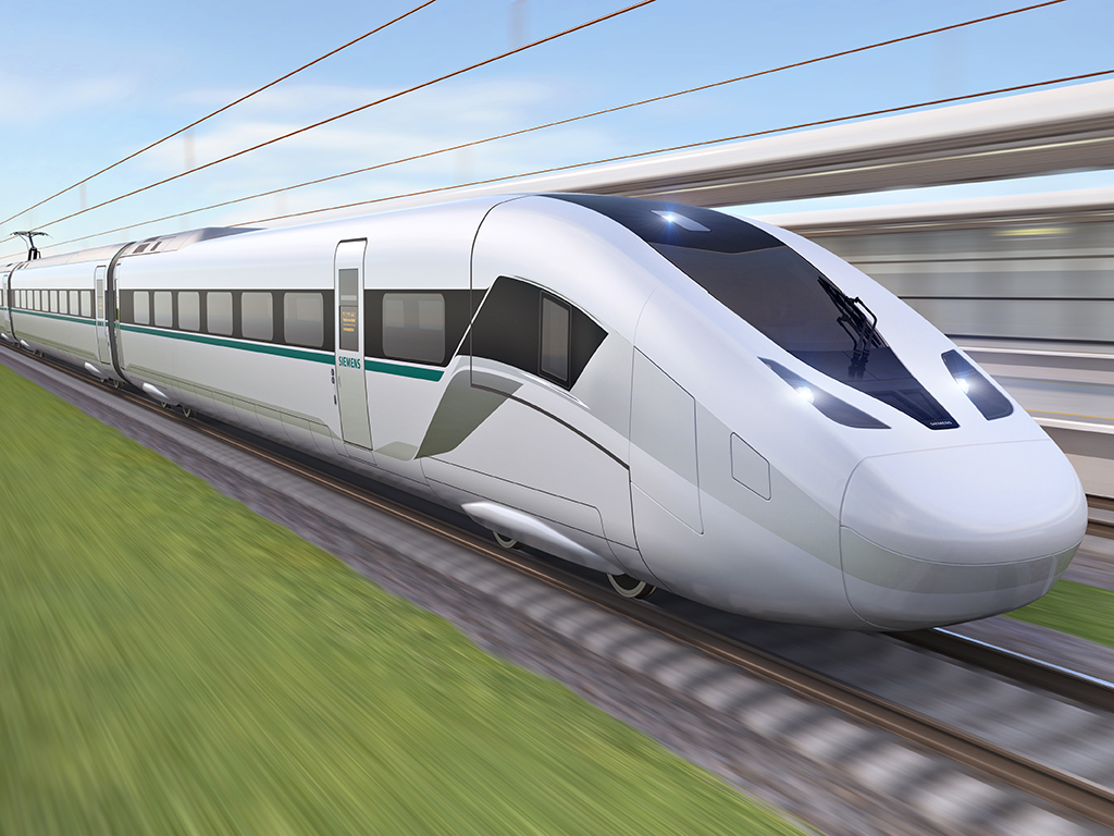 "Kecanggihan Kereta Cepat Baru Siemens ""Velaro Novo"""
